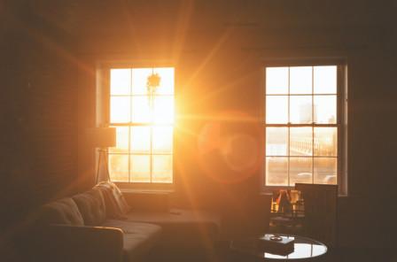 Intérieur au soleil déclinant, Philadelphie