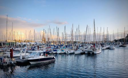 Marina de Saint Malo, France